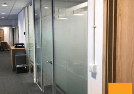 Glass Partitioning York Office Glazed Parititions Office Refurbishment Refit - 7