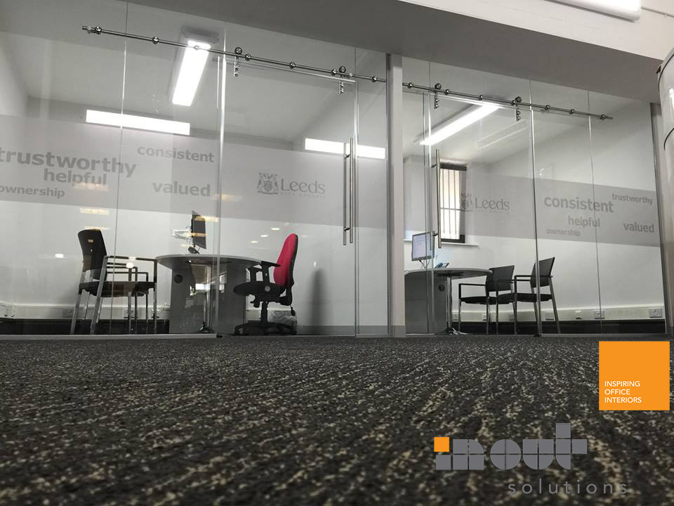 Glass Office Partitions Sheffield