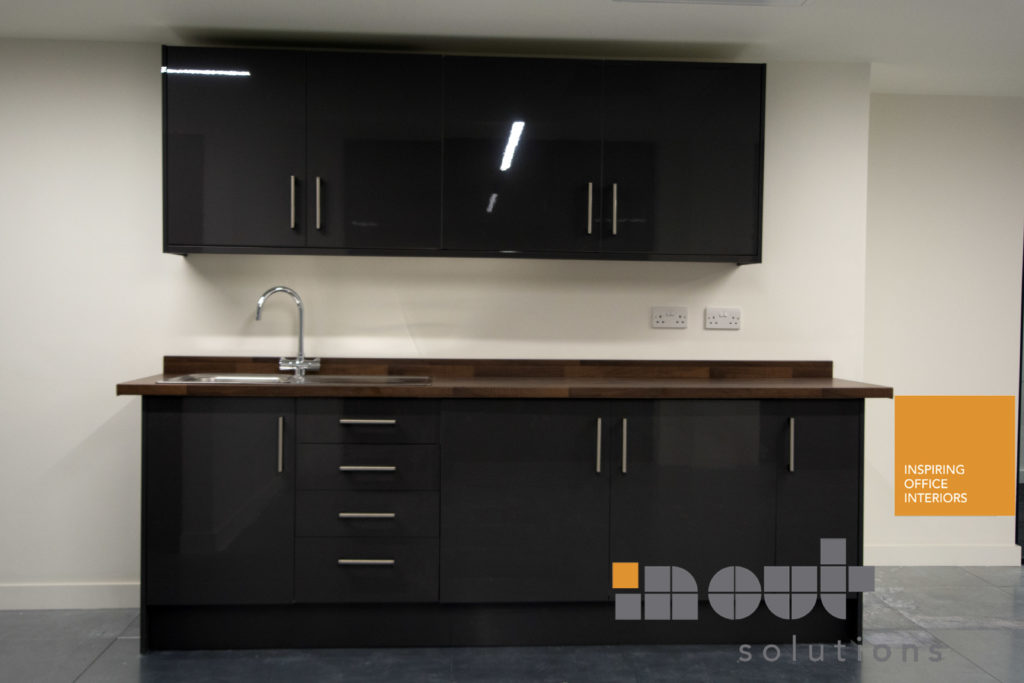 company kitchen leeds installation glass office partitions refurbishment refit 2018
