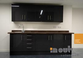 company kitchen leeds installation glass office partitions refurbishment refit 2018