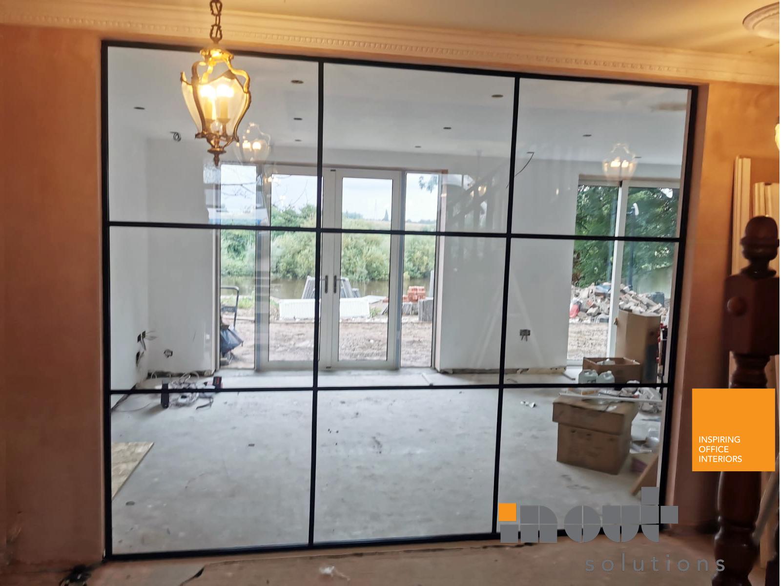 Glass Room Divider York