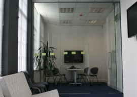 Frameless Glass Partitioning Systems