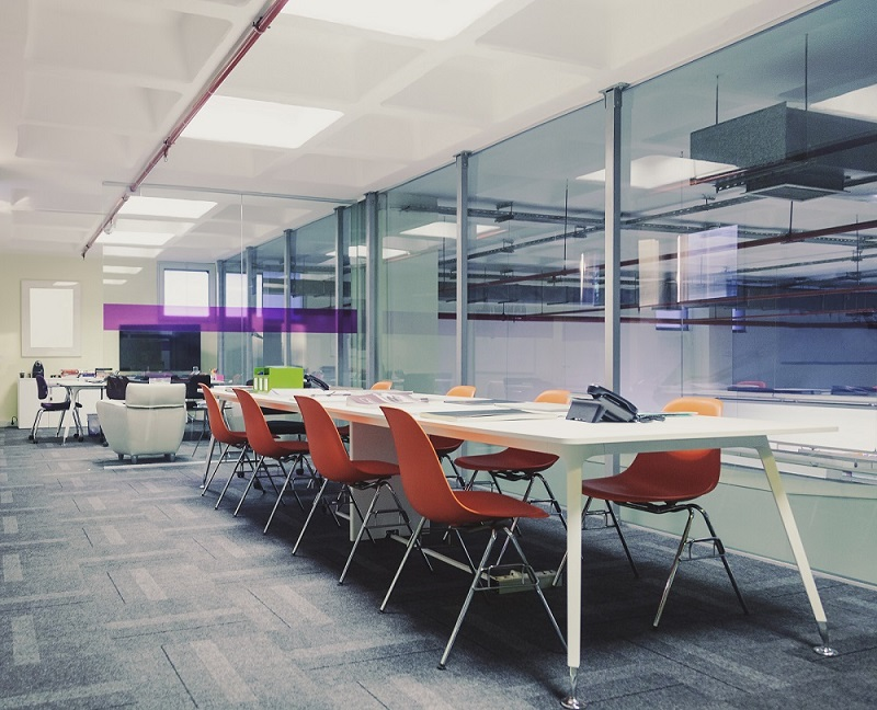 glass office partitions in west yorkshire