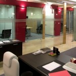 Frameless Glass Partitioning System