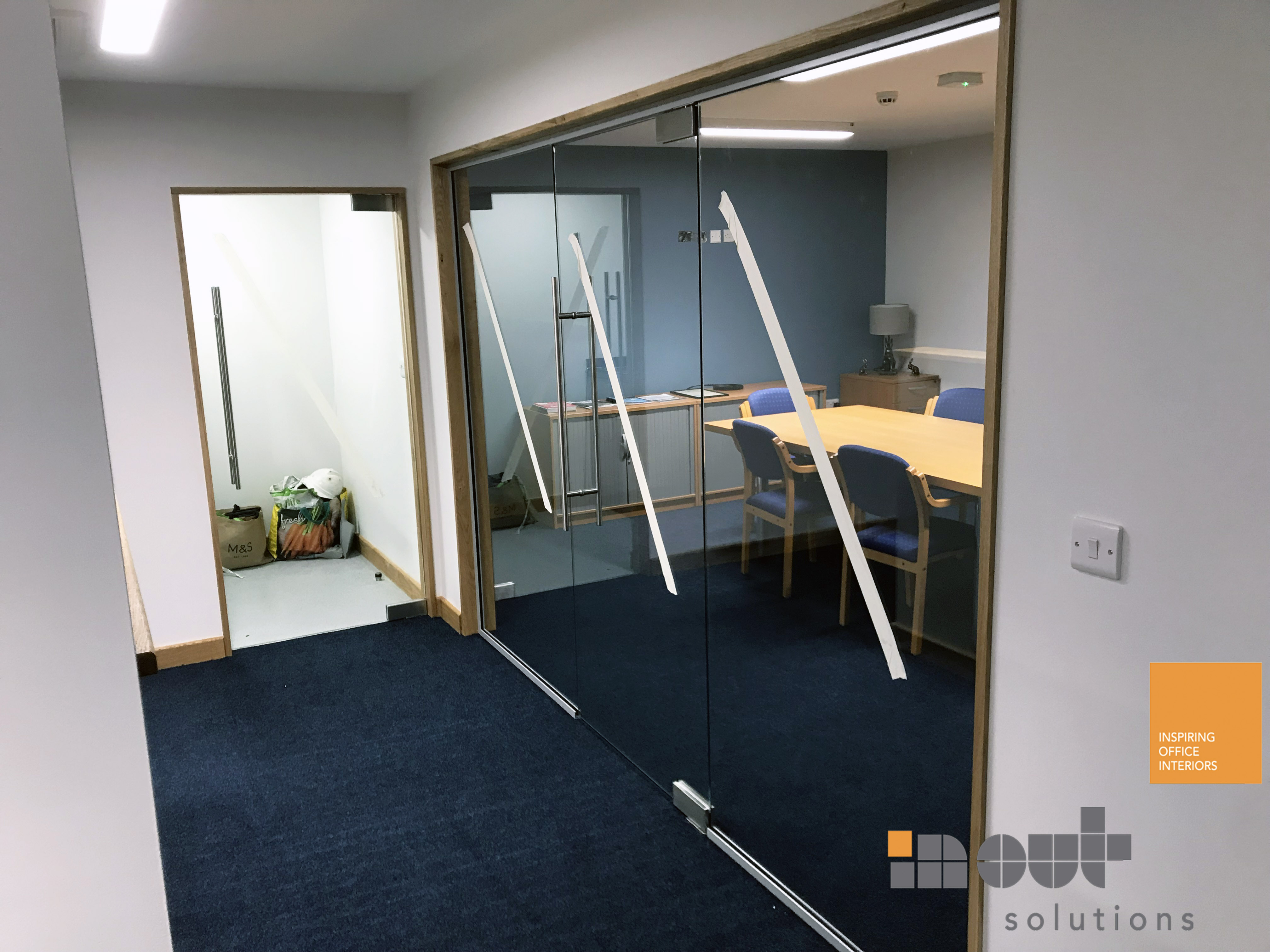 Glass Partitioning Richmond North Yorkshire