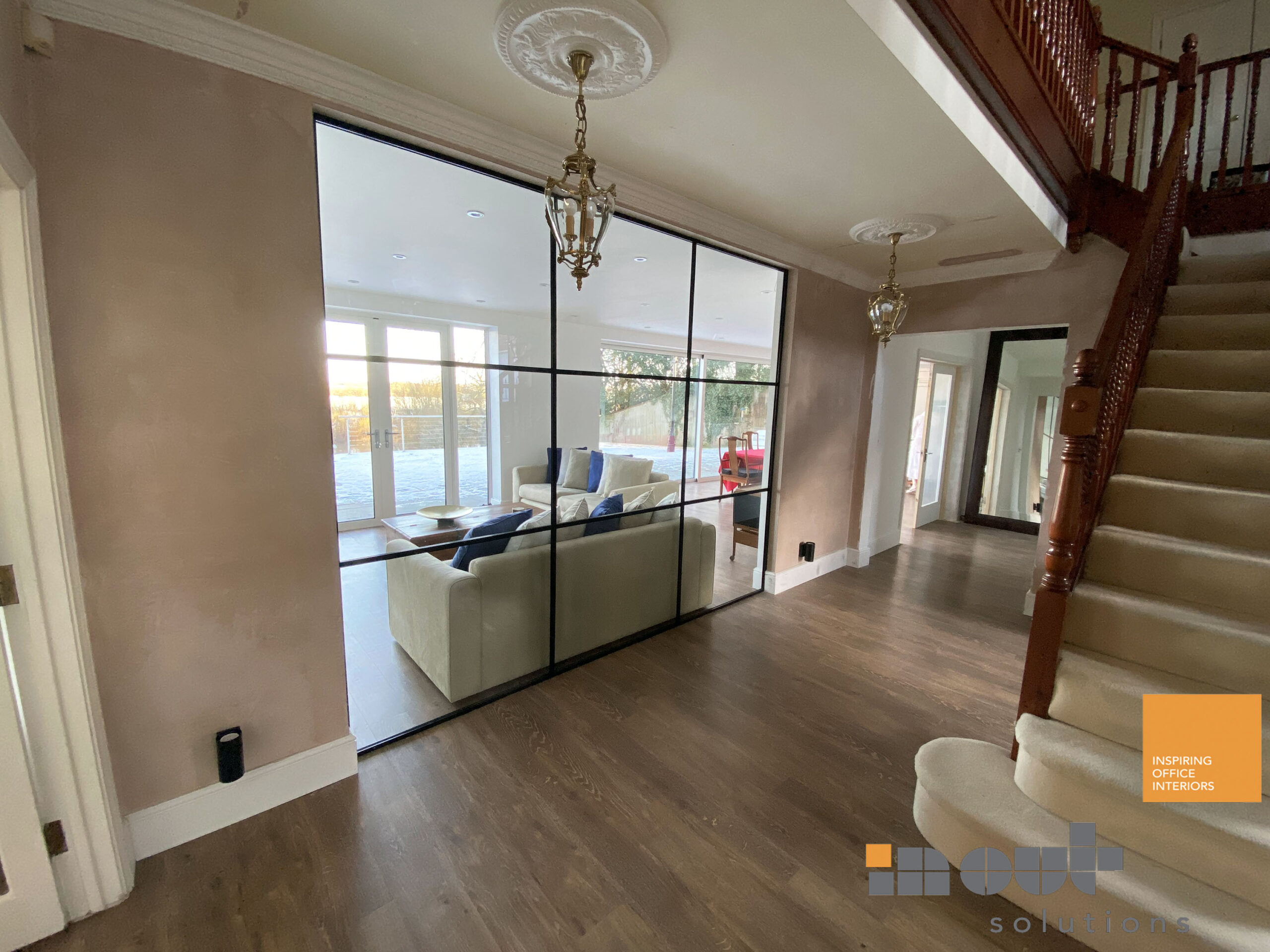 Glass Room Walls Dividers Glass Partitions for Home Living Room Dividers glass doors sliding glass doors UK Interior Doors Home Installers Glazed Office Partitions Costs Installed Prices internal glass partitioning