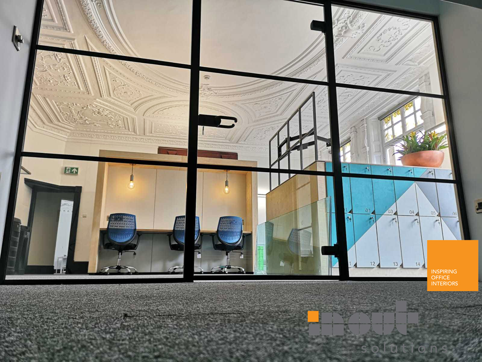 Industrial Glass Partitioning