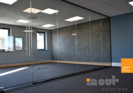 Glass Partitions Leeds Yorkshire glass partitions Leeds Sheffield Yorkshire Rotherham doors glazed office partitioning glazing bespoke made to measure - 13