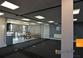 Glass Partitions Leeds Yorkshire glass partitions Leeds Sheffield Yorkshire Rotherham doors glazed office partitioning glazing bespoke made to measure - 16