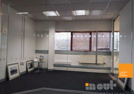 Office Refurbishment Ilkley Yorkshire glass partitions Leeds Sheffield Yorkshire Rotherham doors glazed office partitioning glazing bespoke made to measure - 7