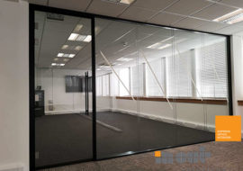Single and Double Glass Partition