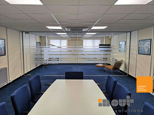 Office Partitions In Wakefield Yorkshire Frameless Glass