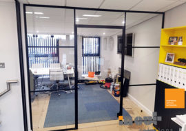 Glass Partitions Leeds Yorkshire Office Refurbishment Glass Walls Fit Out Contractors Sheffield Rotherham Break Out Canteen Bradford Huddersfield Wakefield