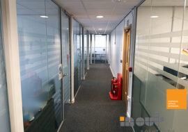 Glass Room Walls Dividers UK Interior Doors Home Installers Glazed Office Partitions Costs Installed Leeds Prices Yorkshire Noise Reducing Double Single Glazing -