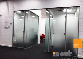 Double Glazed Partitioning