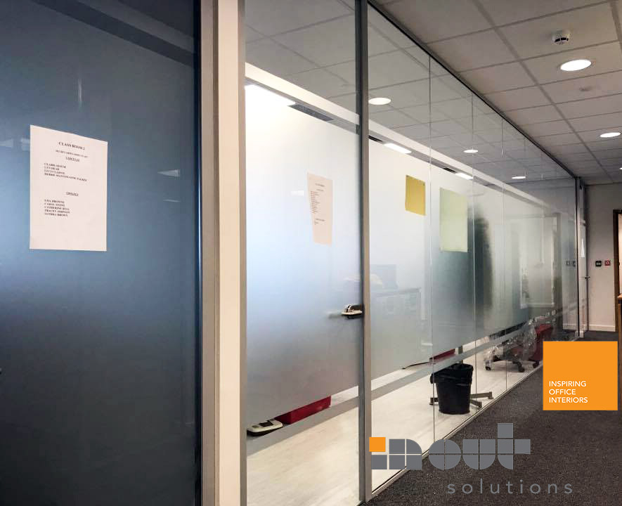 Glass Partitioning York Office Glazed Parititions Office Refurbishment Refit - 4