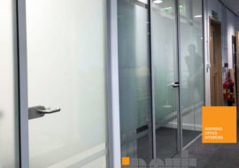 Glass Partitioning York Office Glazed Parititions Office Refurbishment Refit - 3