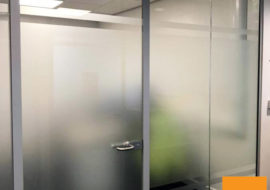 Glass Partitioning York Office Glazed Parititions Office Refurbishment Refit - 1