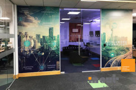 Glass partitions office refurbishment leeds