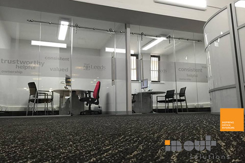 0dd8811394d ... frameless Single Glass Partition Office ...