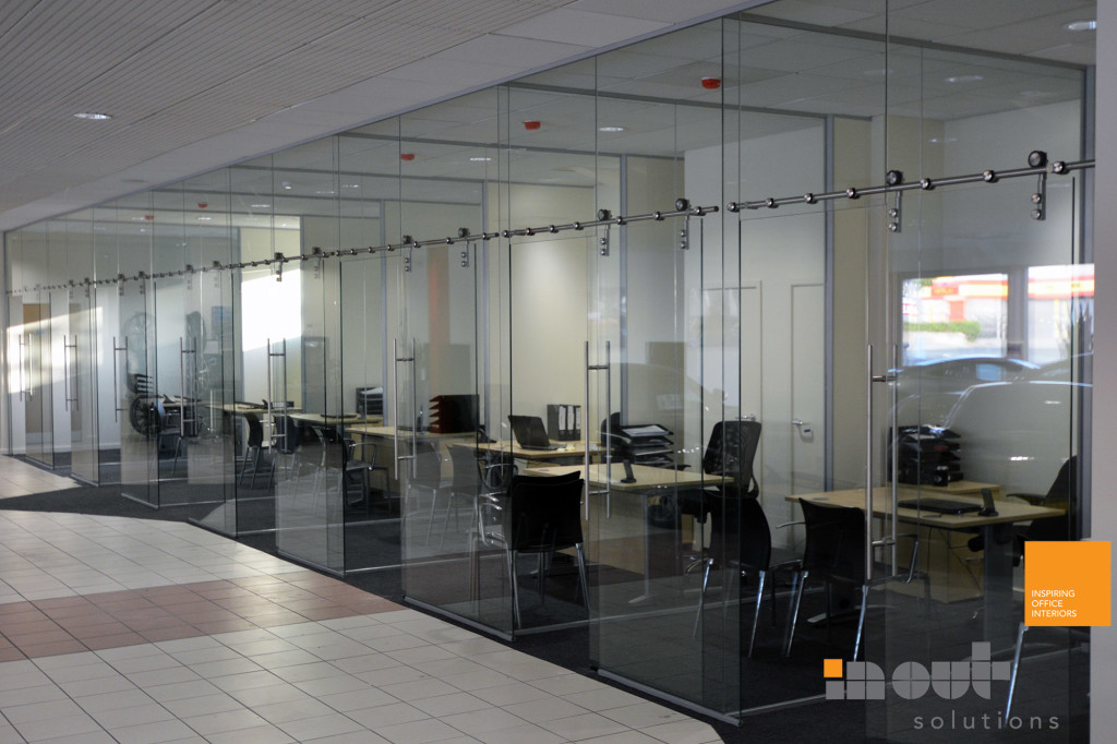 office fit out Glass Partitioning glazed partitions