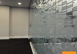 glass manifestation, personalised glass partitions, Opaque Glazed Partitions, bespoke glass partitions, frosted glass partitions, branded glass partitions, opaque glass partitions,