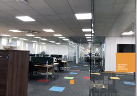 glass partitions Leeds glazed office partitioning glazing bespoke made to measure - 7