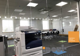 glass partitions Leeds glazed office partitioning glazing bespoke made to measure - 6