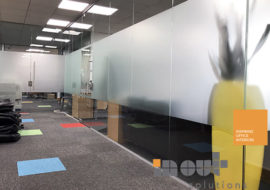 glass partitions Leeds glazed office partitioning glazing bespoke made to measure - 1