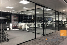 Acoustic Glass Partitions