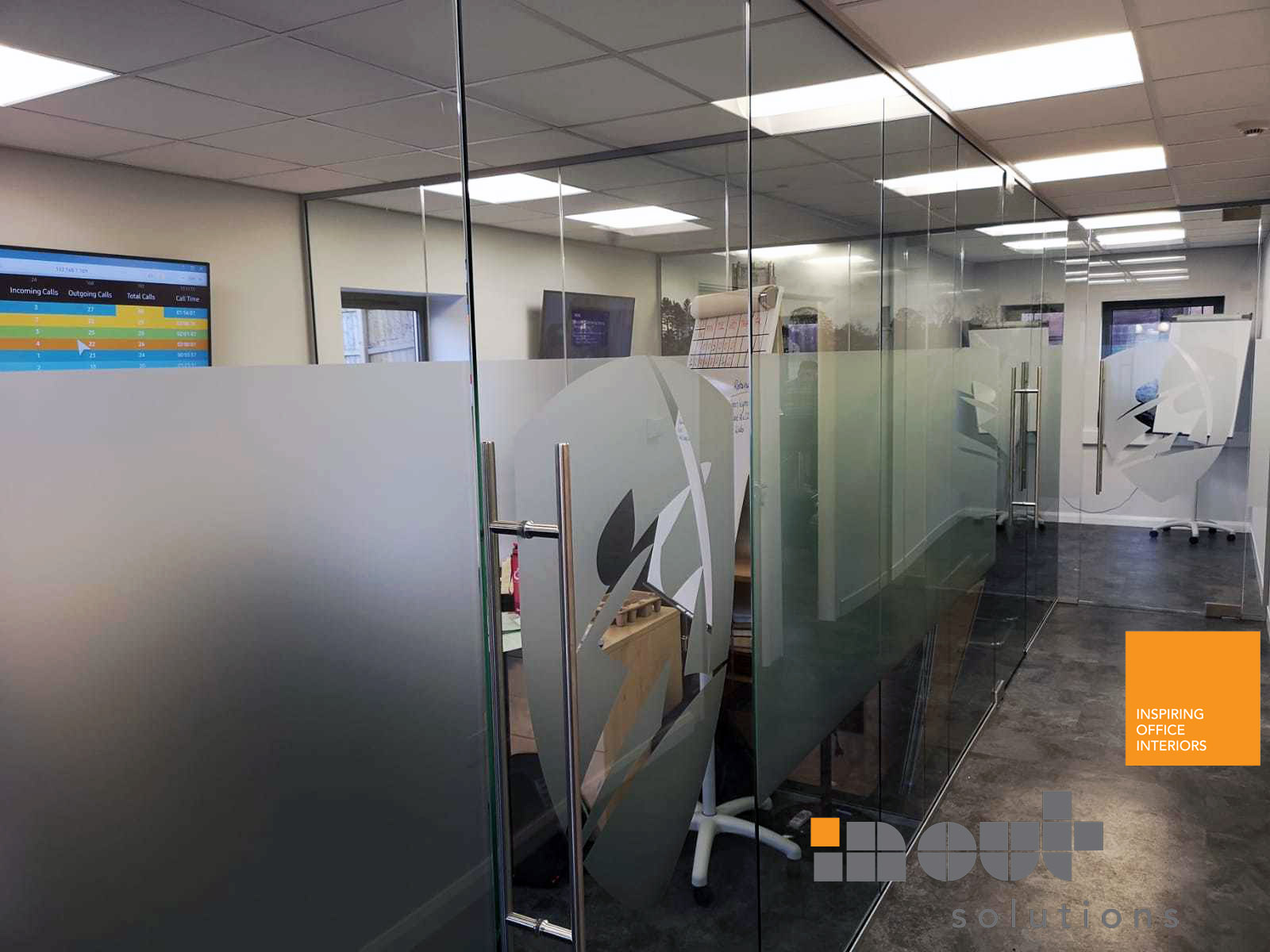 Single Glass Partition Ripon