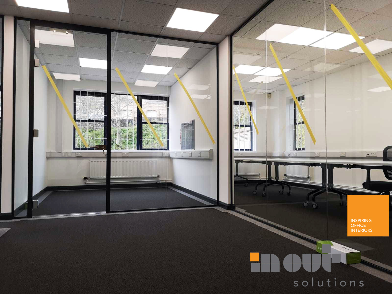Glass Office Partitions, Batley, Yorkshire