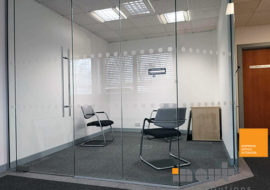Office Refurbishment Ilkley Yorkshire glass partitions Leeds Sheffield Yorkshire Rotherham doors glazed office partitioning glazing bespoke made to measure - 5